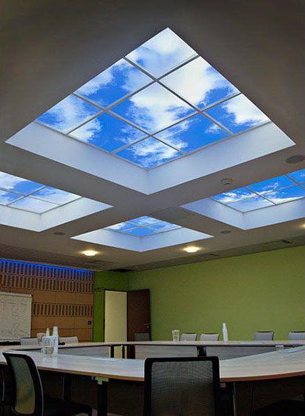 pantallas LED efecto cielo 2